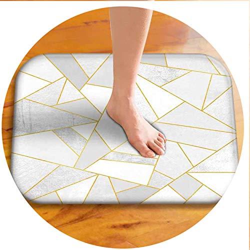 4060Cm Geometric Pattern Anti-Slip Carpet Door Mats Doormats Outdoor Kitchen Bathroom Living Room Floor Mat Rug 17 400mmx600mm (Vanity 600 Mm)