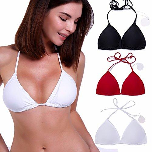 white bikini tops - 5