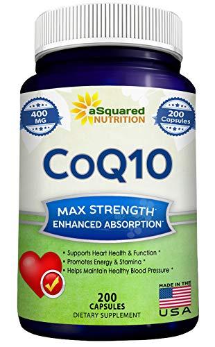 CoQ10 400mg Max Strength
