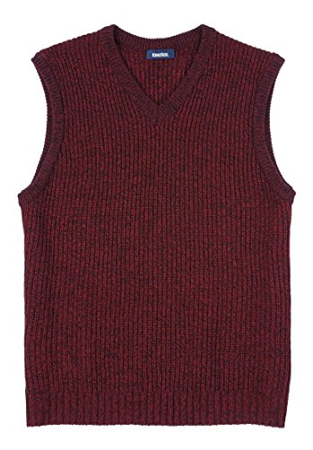 Kingsize Mens Shaker V Neck Sweater