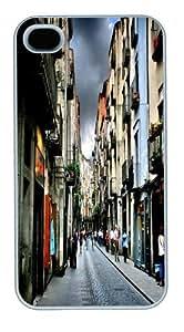 Girona Custom iPhone 4s/4 Case Cover Polycarbonate White