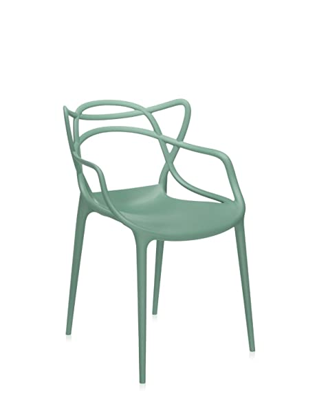 Kartell Masters Chair   Matte Sage Green