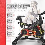 LSYOA-Cyclette-stazionario-200kg-capacita-Peso-Indoor-Cycling-con-Digital-Monitor-e-Regolabile-Sella-Spin-BikeWhite