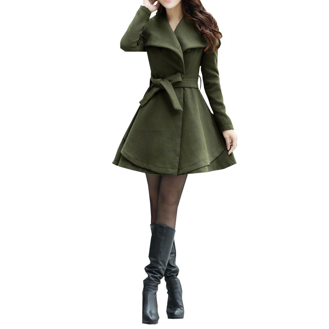 Cozy Age Women's Slim Fit Overcoat