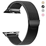 #8: yamen for Apple Watch Band 38mm 42mm Milanese Loop for iwatch Band Series 2 Series 3