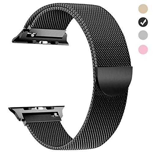 yamen for Apple Watch Band 38mm Women Milanese Loop for iwatch Band...