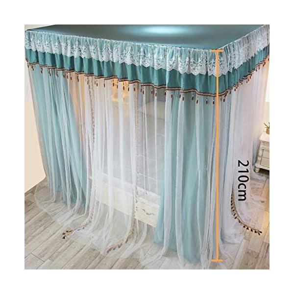 Zanzariera Principessa Quattro montante d'angolo assestamento decorazione della tenda del baldacchino del reticolato… 4 spesavip