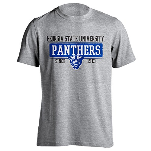 Georgia State University Panthers GSU Since 1913 Short Sleeve T-Shirt (Athletic Heather, - Sun Southlands