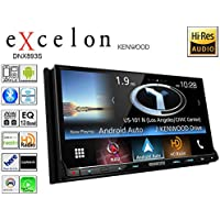 Kenwood DNX893S 6.95 eXcelon Double-DIN AV Navigation System With Bluetooth