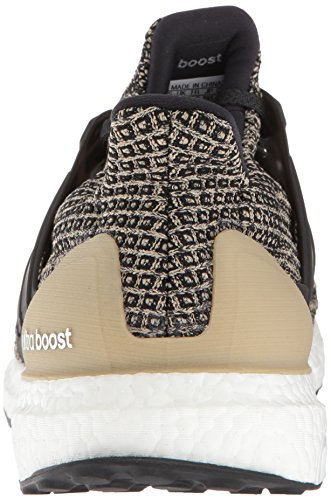 adidas Men's Ultraboost, Black/raw Gold, 6.5 M US by adidas (Image #2)