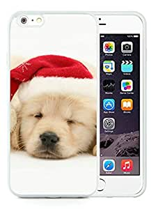 linJUN FENGRecommend Design iPhone 6 Plus Case,Christmas Dog White iPhone 6 Plus 5.5 TPU Case 34