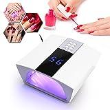 60W UVLED Nail Lamp Nail Dryer for Nail Gel Polish Curing with Smart Sensor Nail Art Tools