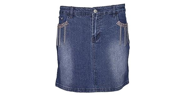 Lets Shop Shop - Falda - trapecio - para mujer azul azul 40 ...