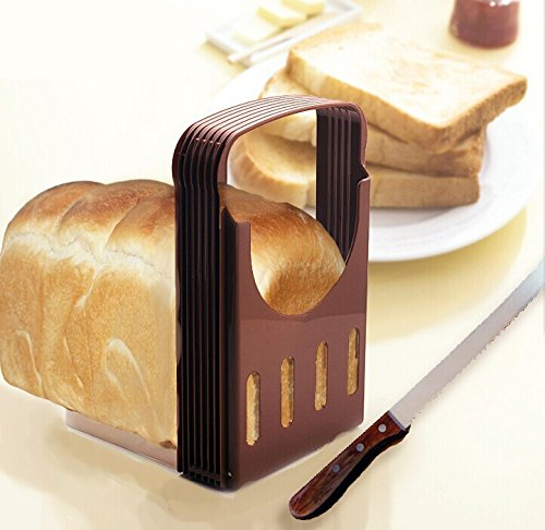 L-FENG-UK KITCHEN PRO BREAD LOAF SLICER SLICING CUTTING GUIDE