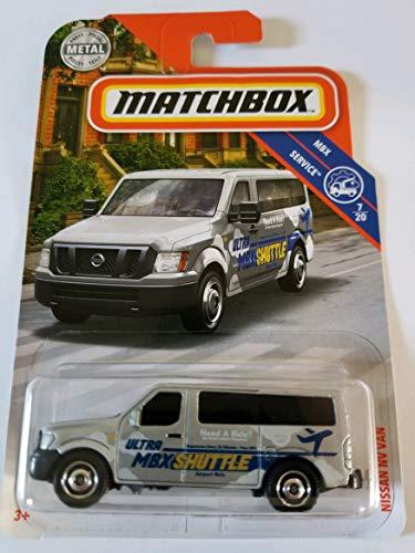 Matchbox 2019 MBX Service 7/20 - Nissan NV Van -
