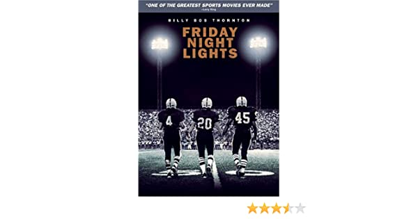 Friday Night Lights [USA] [DVD]: Amazon.es: Billy Bob Thornton, Lucas Black (II), Garrett Hedlund, Derek Luke, Jay Hernandez, Lee Jackson (III), ...