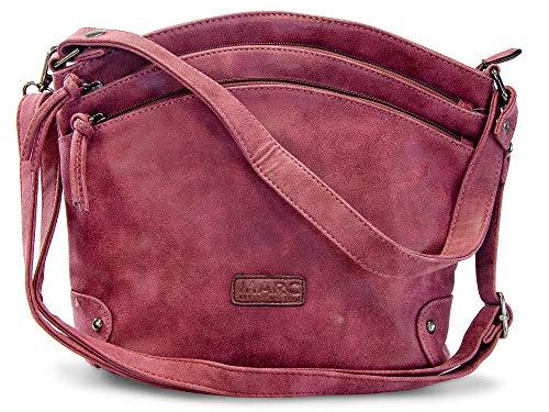 Marc Shoes - Brest, sac à main rouge pour femmes (planche synthétique)