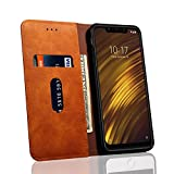 for Xiaomi Pocophone F1 Case Slim PU Leather Wallet