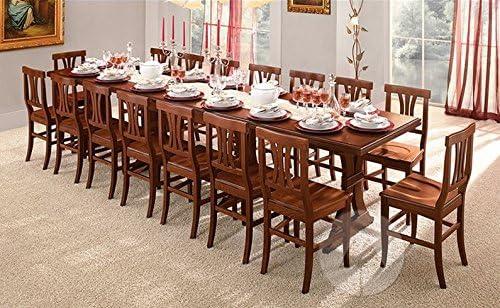 Tavolo Fratino Allungabile A 360 X 100 In Legno Arte Povera 16 Posti Da Tavernetta Amazon It Casa E Cucina