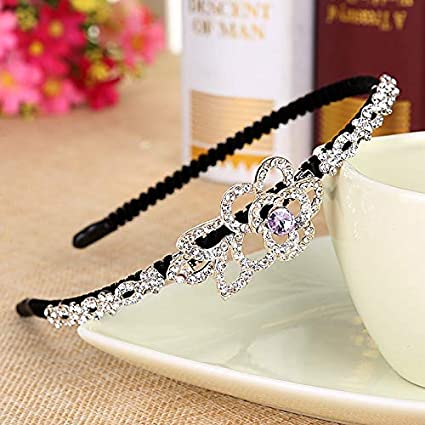 Amazon.com: ORCHILD Flora flower headband Korean Beautiful ...