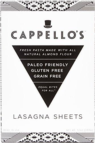 Cappello's Gluten-Free Lasagna - 12 Ounces (Pack of 6)