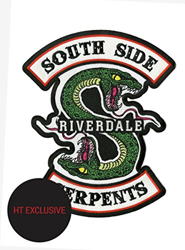 Riverdale Giant Southside Serpents Back Patch Hot Topic Exclusive