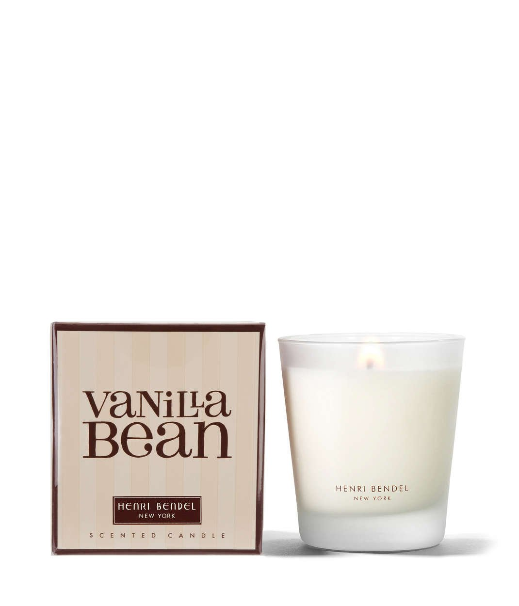 Henri Bendel Vanilla Bean Scented Candle 9.4 Ounce New In Box Bath and Body Works