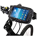 xolo mobile - DFV mobile - Professional Support for Bicycle Handlebar and Rotatable Waterproof Motorcycle 360º for => Lava Xolo ERA 2V > Black