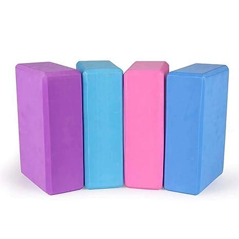 Amazon.com : KELAND Yoga Brick Solid Color High Density EVA ...