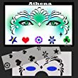 Face Painting Stencil - StencilEyes Athena - Princess
