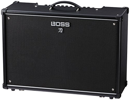 Boss KTN-100-212 Katana 100/212 Guitat Amplifier w/Bonus Strukture Instrument Cable SC186W & RIS Picks (x3) - Amplifier Majestic