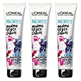 L'Oreal Paris Advanced Hairstyle Air Dry It Undone Style Cream, 5.1 Fluid Ounce (Pack of 3)