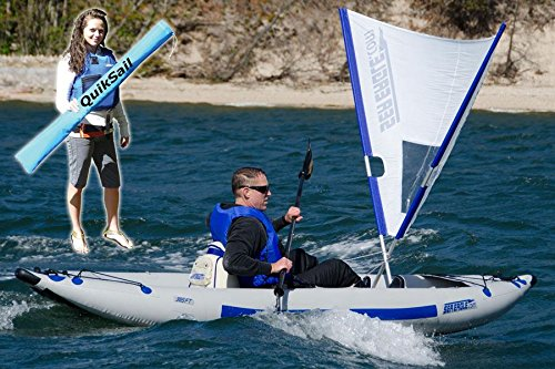 Sea Eagle QuikSail- Universal Kayak Quick Sail - Easy Setup