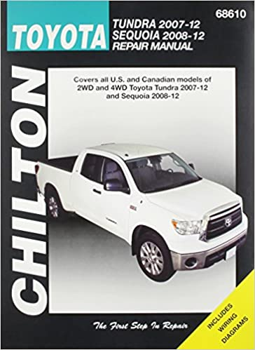 Chilton total car care toyota tundra 2007 2012 sequoia 2008 2012 chilton total car care toyota tundra 2007 2012 sequoia 2008 2012 repair manual chiltons total car care repair manuals 1st edition fandeluxe Images