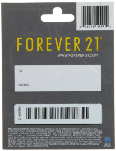 Large Product Image of Forever 21 Gift Card $25