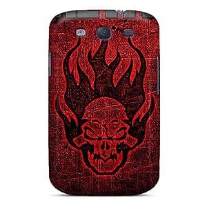 SherriFakhry Samsung Galaxy S3 Great Hard Phone Case Customized Fashion Metallica Series [eQR9041WDBm]