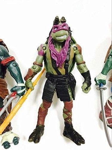 Amazon.com: 4PCS Teenage Mutant Ninja Turtles New Action ...