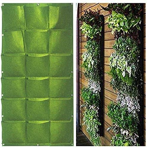 Macetero YINO con bolsillos para jardín vertical: Amazon.es: Jardín