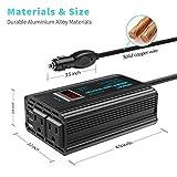 300W Power Inverter DC 12V to AC 120V Car Power
