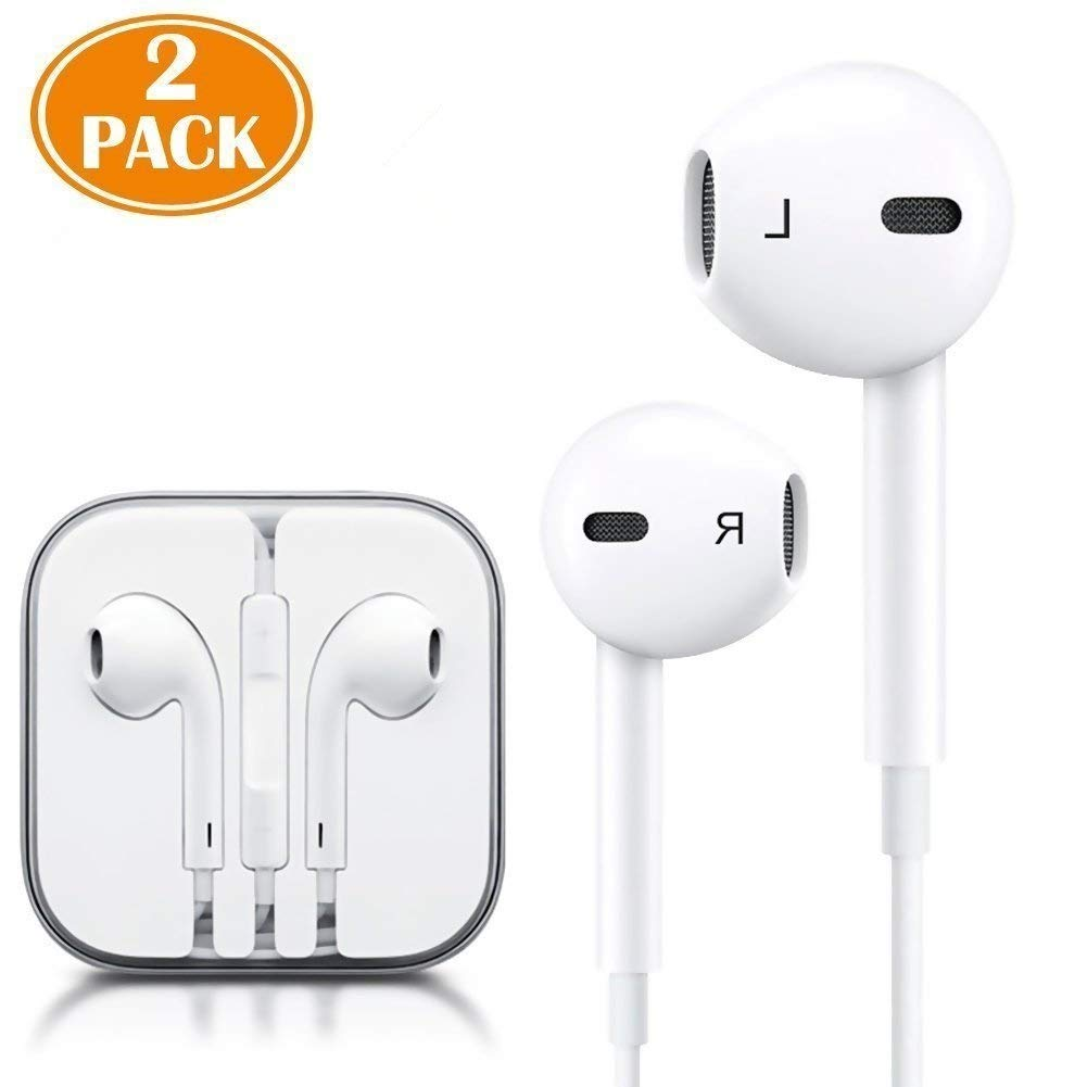 Iphone 7 Headphones,Ultra high definition sound quality iphone Earphones with Microphone Headphones Stereo Headphones and Soundproof Headphones for Apple iPhone iPad and Android(white)