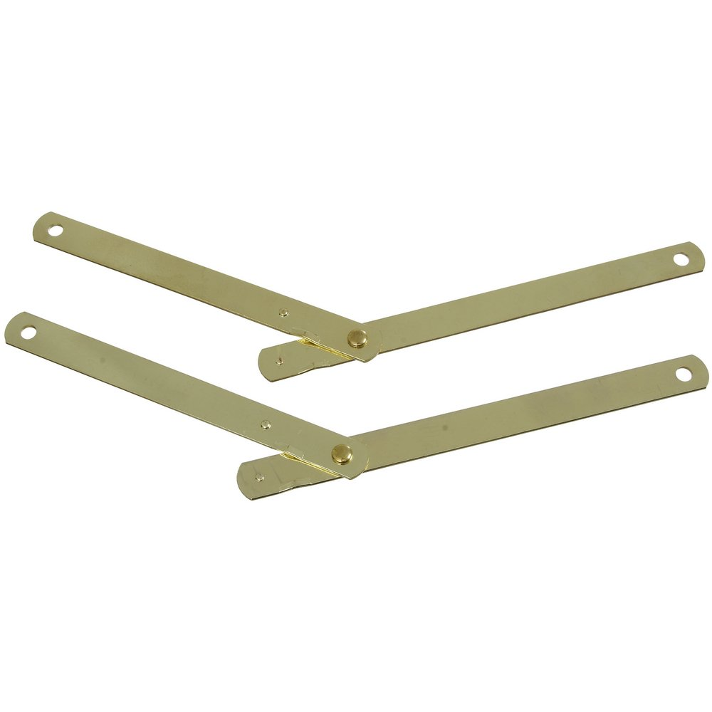 National N242230 9 1 2 Brass Table Leg Brace Pack of 2