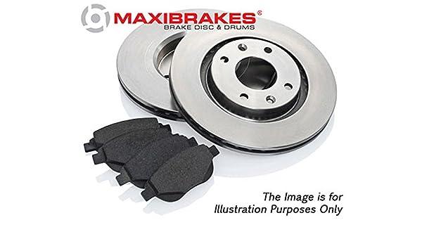 maxibrakes freno traseras y discos Bundle Kit de Coche Peugeot 307 SW 357501 - 164740: Amazon.es: Coche y moto