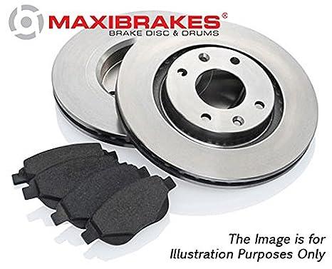 maxibrakes almohadillas y discos de freno delantero Kit de Coche Peugeot 307 CC 371210 - 125740 _ G11: Amazon.es: Coche y moto