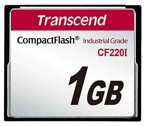 (Transcend 1GB Industrial Temperature Range CF220I 220X Ultra CompactFlash)