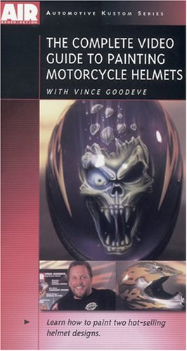 Complete Video Guide to Painting Motorcycle Helmets (Videos Airbrush Dvd)