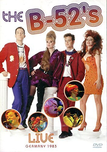 - The B-52s : Live in Germany~ Dvd [Import Edition] Region 0- Ntsc | B-52s - Planet Claire Video