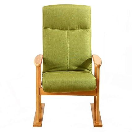 Amazon.com: Sillón reclinable de tela con asiento acolchado ...