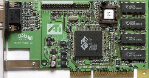(ATI 3D Charger - Graphics adapter - RAGE IIC - AGP 2x - 8 MB SDRAM - OEM)