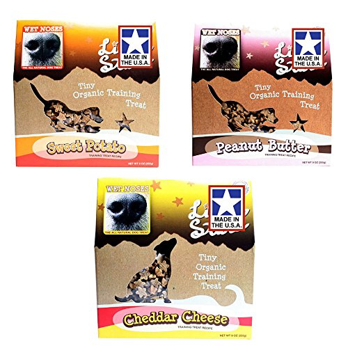 Wet Noses All Natural Dog Treats 3-9oz Pack (Wet Noses Training Treats compare prices)