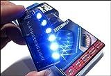 1pcs Solar Car Burglar Alarm 6LED Flashing Anti-theft Warning Light GSPX D141 (Blue)
